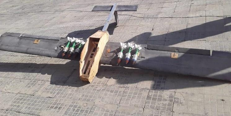 انهدام سه پهپادمتعلق به تروریست ها در حماه