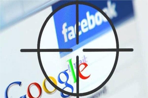 دادستان های ایالتی آمریکا از گوگل و فیس بوک تحقیق می نمایند