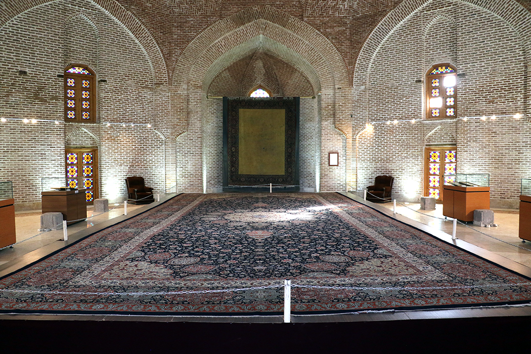موزه فرش در بقعه شیخ صفی الدین اردبیلی دایر می گردد