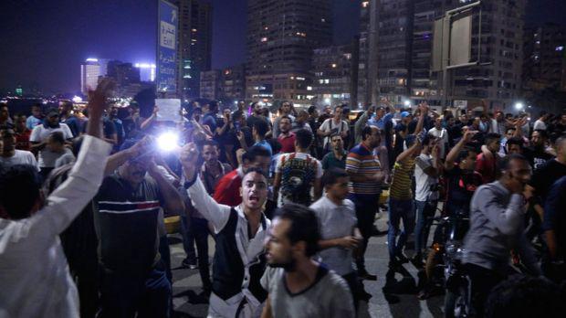 تظاهرات علیه سیسی رئیس جمهوری مصر، تعدادی بازداشت شدند