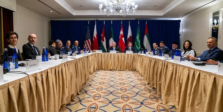 کوشش آمریکا برای ایجاد جبهه ضدایرانی در دیدار با اعضای شورای همکاری