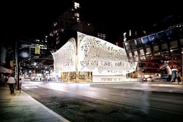 طراحی یکی از متفاوت ترین بناهای دنیا