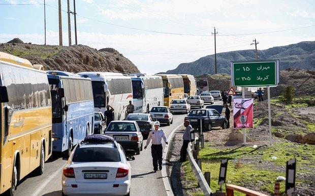تردد بیش از 71 هزار زائر از مرز مهران