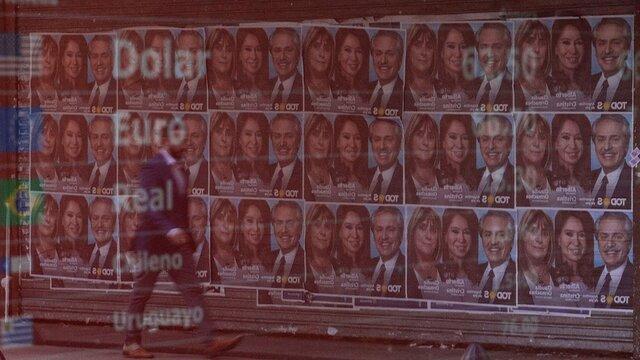 آرژانتینی ها برای انتخاب رئیس جمهور پای صندوق های رای رفتند