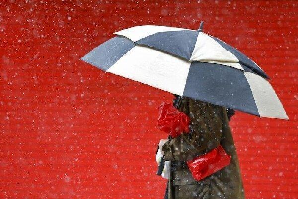 بارش باران در جلگه و بارش برف در ارتفاعات گیلان