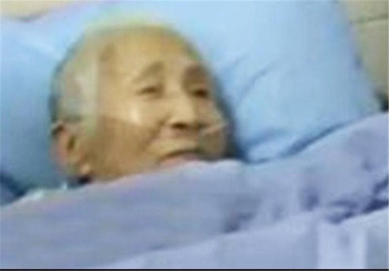 پیرزن چینی که بعد از به هوش آمدن به جای چینی، انگلیسی صحبت می نماید
