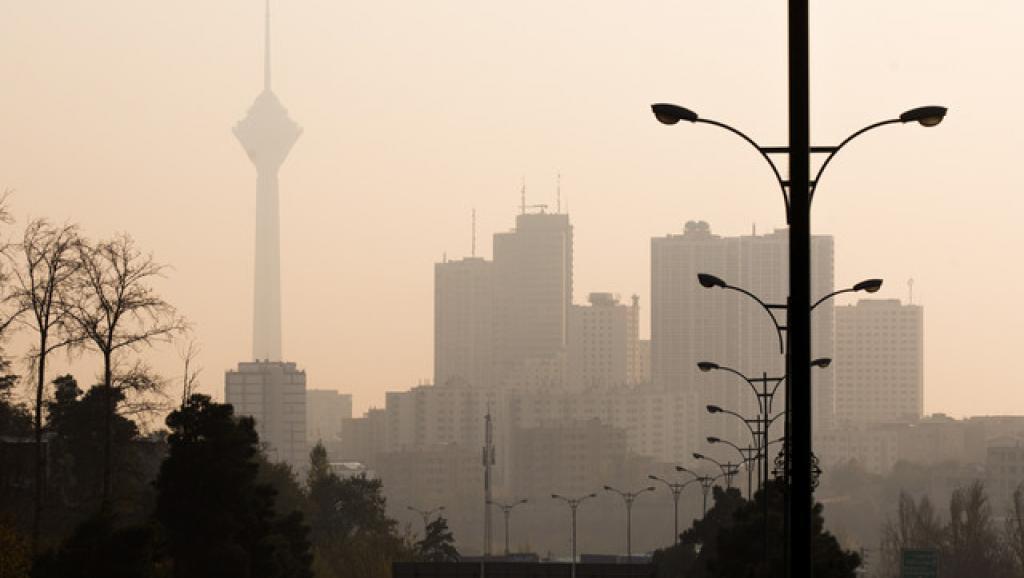 هوای تهران به شرایط قرمز رسید