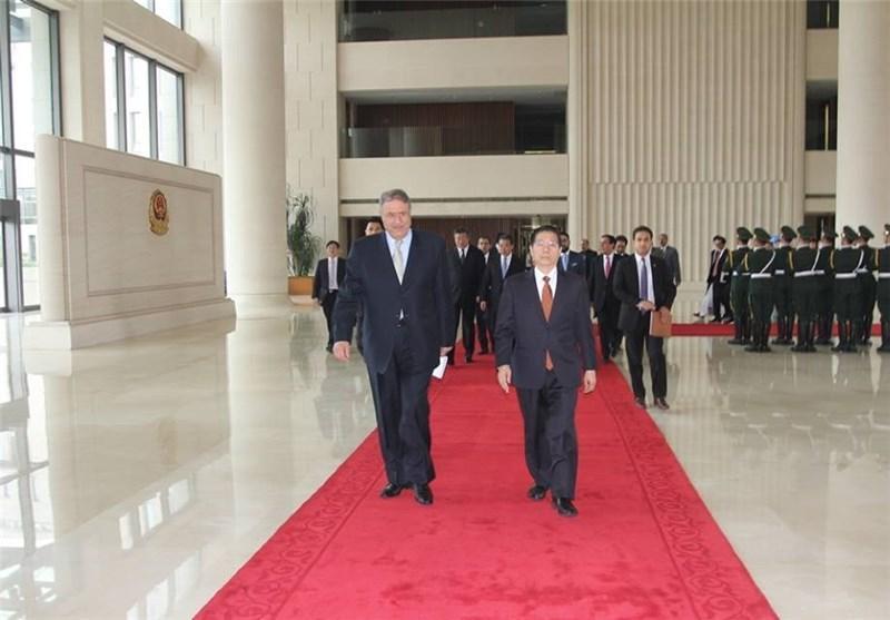 سفر وزیر کشور افغانستان به چین از دریچه دوربین