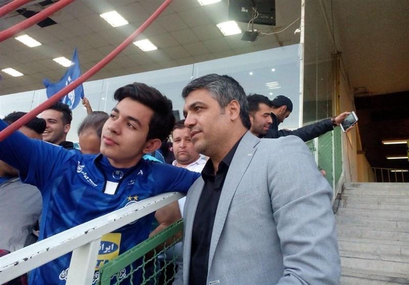 همدانی: کار در استقلال سنگین است، امیدوارم امانت دار خوبی باشم