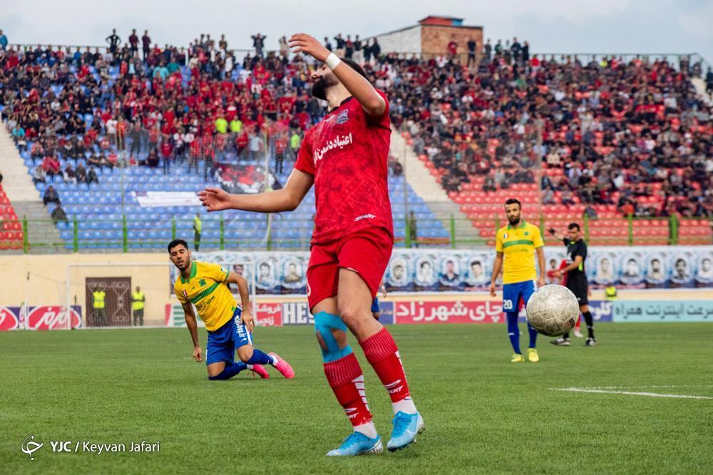 لیگ برتر فوتبال، نساجی صفر - پارس جنوبی صفر