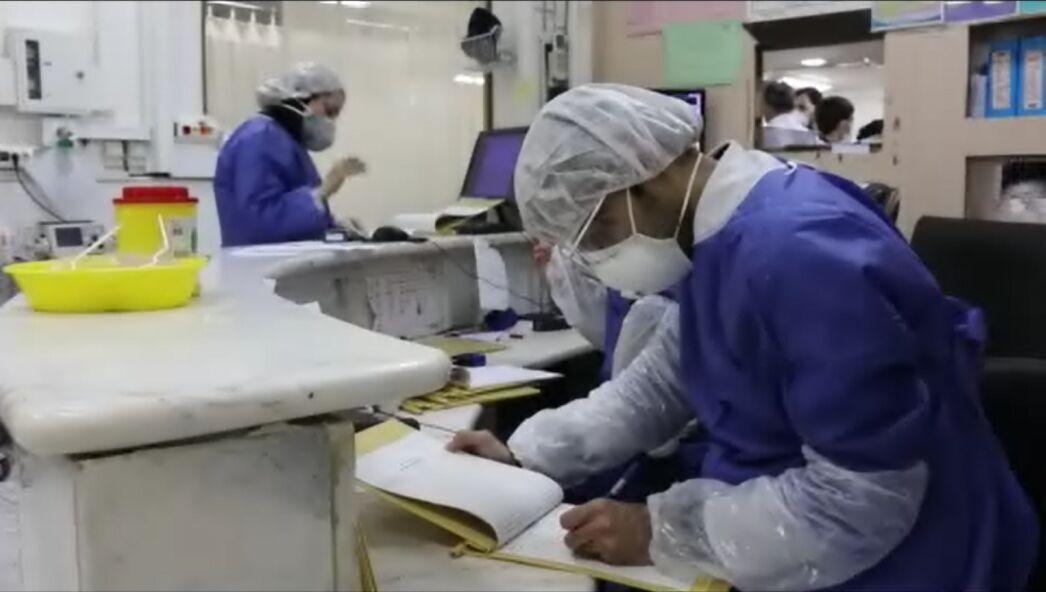 خبرنگاران پزشکان لاهیجان و سیاهکل برای خرید تجهیزات حفاظتی دست به کار شدند