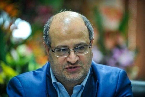 زالی: شرایط کنترل شیوع کرونا در تهران هنوز به شرایط مطلوب نرسیده است