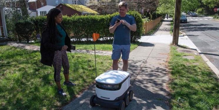 همکاری استارت اپ ها و فروشگاه ها برای تحویل خرید با ربات