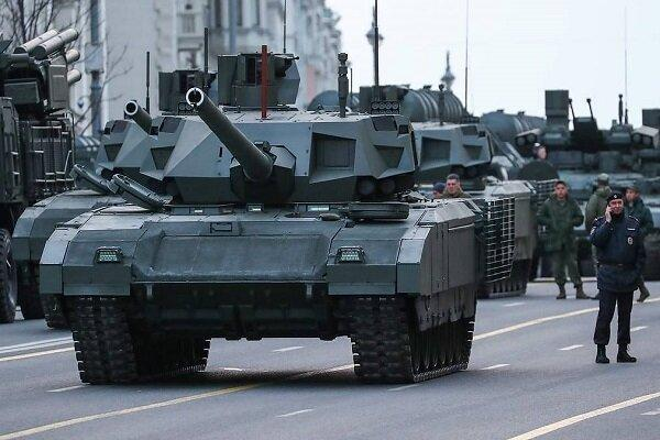 تانک روسی آرماتا در سوریه با موفقیت آزمایش شد