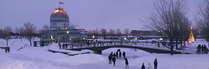 زمستان در مونترال
