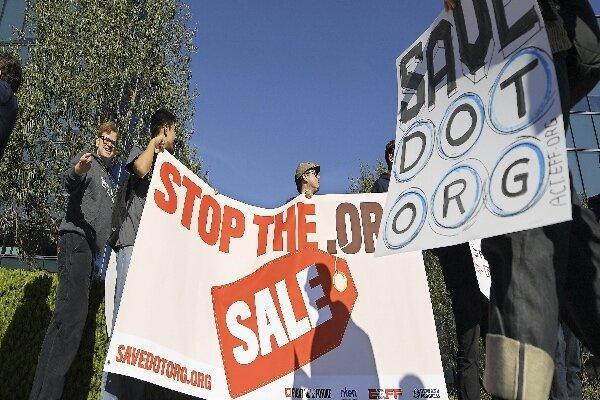 فروش دامنه org. متوقف شد