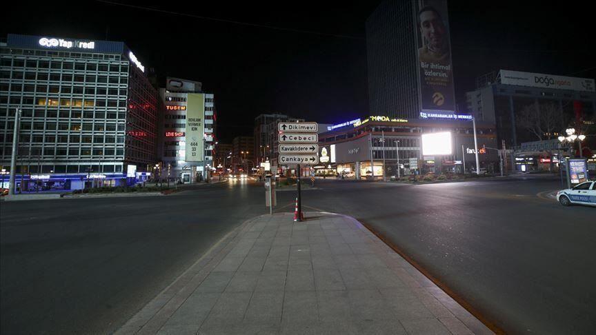 خبرنگاران اعلام منع آمدوشد 4 روزه در ترکیه برای مقابله با کرونا