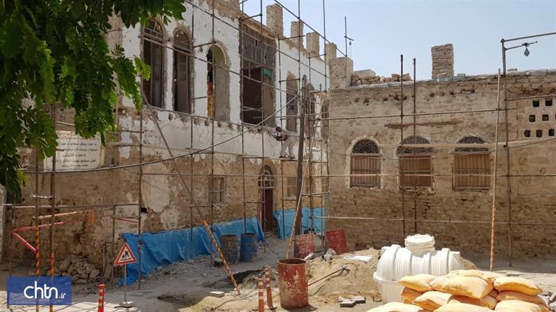 عملیات بازسازی و مقاوم سازی عمارت نعمتی بوشهر شروع شد