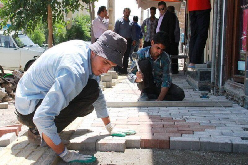 خبرنگاران بهسازی 500 کیلومتر از معابر پیاده روی پایتخت