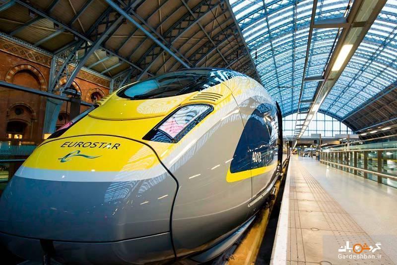 ایستگاه قطار سنت پانکراس؛ از مهم ترین مراکز دیدنی لندن، عکس