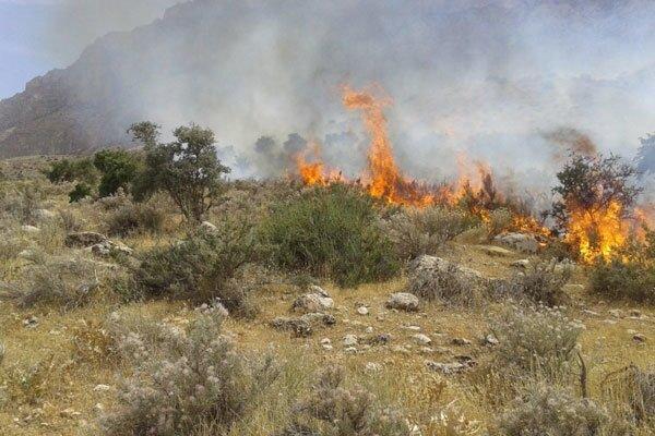 مهار آتش در هفتاد قله