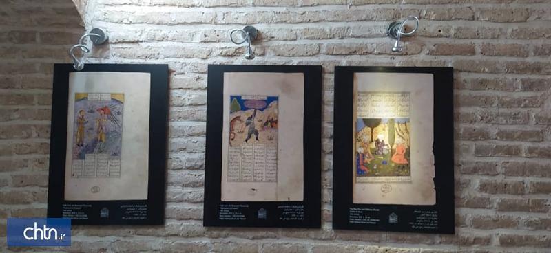 نمایشگاه منتخب نگارگری گنج ملک در موزه اقوام گرمسار برپا شد