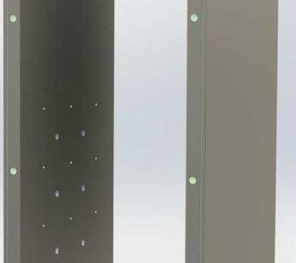 طراحی و ساخت تونل ضدعفونی کننده فردی در مرکز رشد جهرم