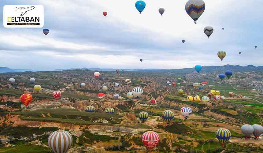 کاپادوکیا شهر افسانه ای ترکیه Cappadocia