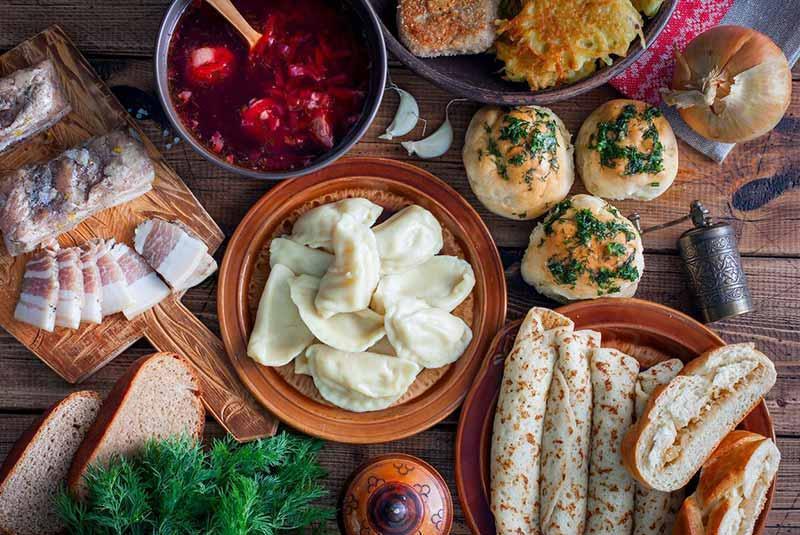 معروفترین غذاهای اوکراینی با مزه ای کاملا متفاوت، تصاویر