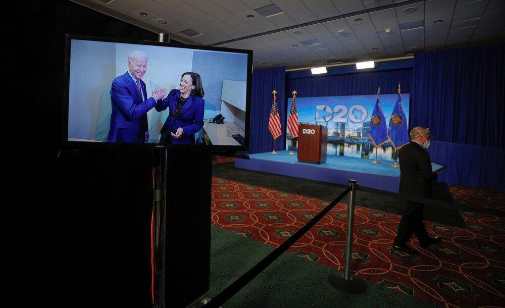مهر تایید دموکرات ها بر نامزدی بایدن، یک پدیده نادر در انتخابات آمریکا؛پاول جمهوریخواهان را غافلگیر کرد، عکس