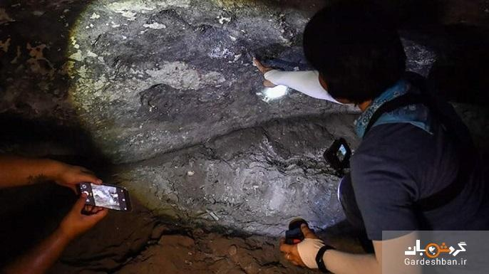 کشف سنگ نگاره های ما قبل تاریخ در تایلند