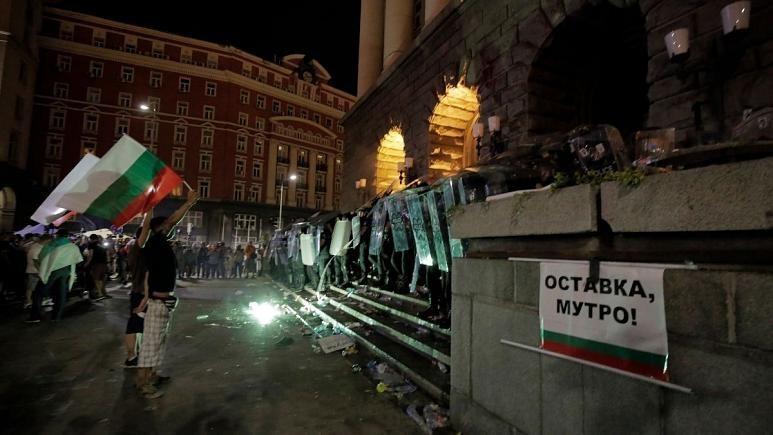 اعتراضات مردمی در بلغارستان شدت گرفت