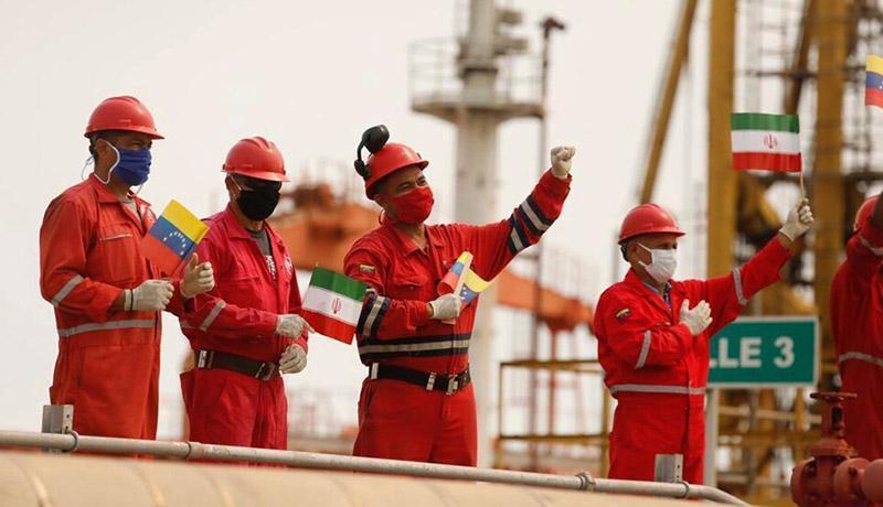 دومین نفتکش ایران هم به ونزوئلا رسید