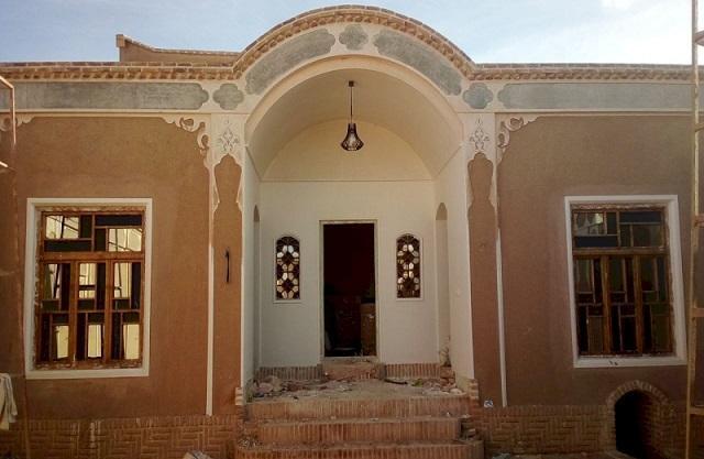 بازسازی خانه تاریخی اعتضادی در روستای قوژد گناباد