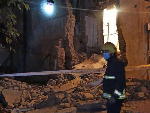 گودبرداری غیراصولی موجب ریزش سه ساختمان مسکونی در تبریز شد