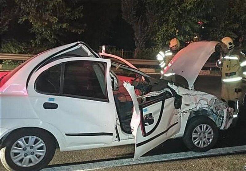 واژگونی خودرو با یک کشته در نایین