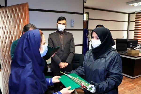 قدردانی شهردار منطقه 8 از پرستاران وکادر درمان کلینیک شهرداری منطقه در روز پرستار