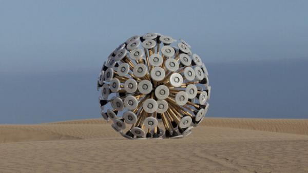 طراحی یک توپ برای پاکسازی میادین مین