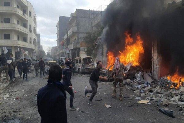 انفجار خودرو بمبگذاری شده در شمال سوریه، 25 کشته و زخمی