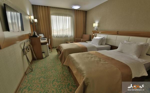 هتل سلجوق شمس تبریزی؛ اقامتگاه 4ستاره و زیبا در قونیه، عکس