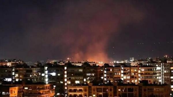 وقوع انفجاری مهیب در دمشق