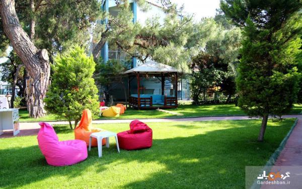 ریوس بیچ؛ هتلی 4ستاره و زیبا در آنتالیا ، اقامتی خاطره انگیز از در ساحل دریای مدیترانه