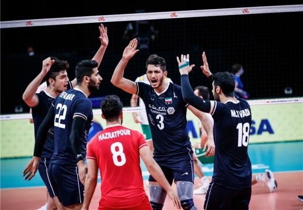 لیگ ملت های والیبال، برتری مطلق ایران مقابل بلغارستان، هت تریک پیروزی شاگردان آلکنو در هفته دوم