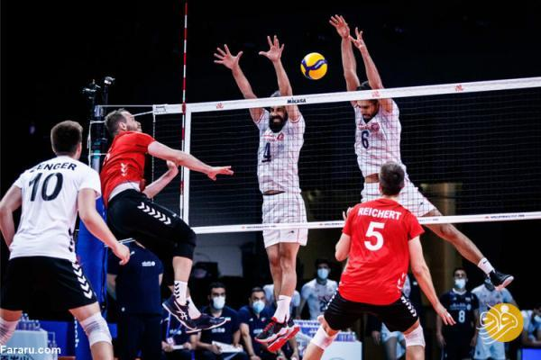 سقوط والیبال ایران در رده بندی لیگ ملت ها