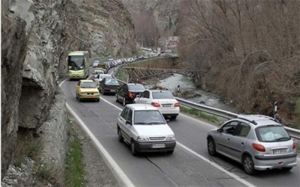 جاده هراز مسدود شد