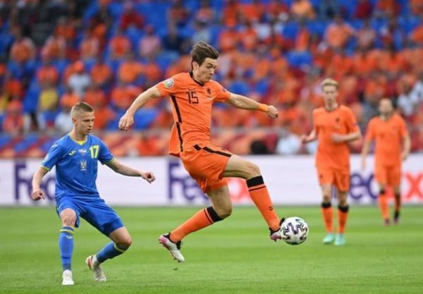 یورو 2020، فزونی آماری محسوس هلند مقابل اوکراین