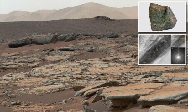 آنالیز امکان حیات در یک دهانه در مریخ