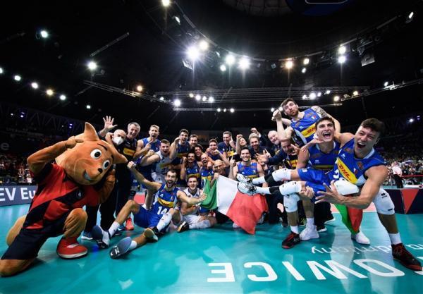 تور اروپا: تیم ملی والیبال ایتالیا قهرمان اروپا شد، سرانجام کار هینن در لهستان با مدال برنز